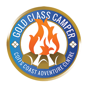 Coffs Coast Adventure Centre's Gold Class Camper Program