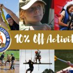 10% off activities for Gold Class campers